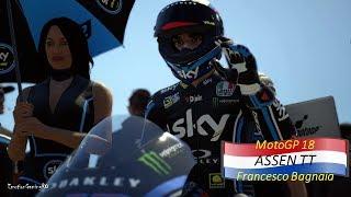 MotoGP 18 Gameplay - ASSEN TT Race - Francesco Bagnaia (Moto2)