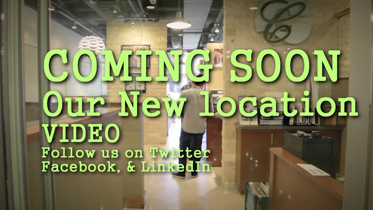 Our New Location Teaser Cc Partners Designbuild Youtube