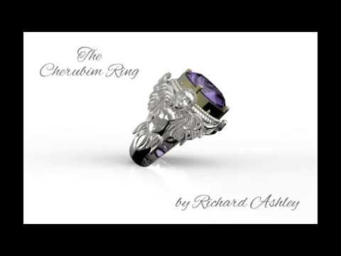 Bespoke Jewelry Designs, The Cherubim Ring