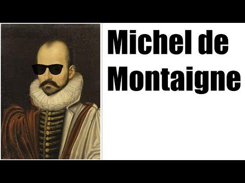 FILOSOFÍA - MICHEL DE MONTAIGNE