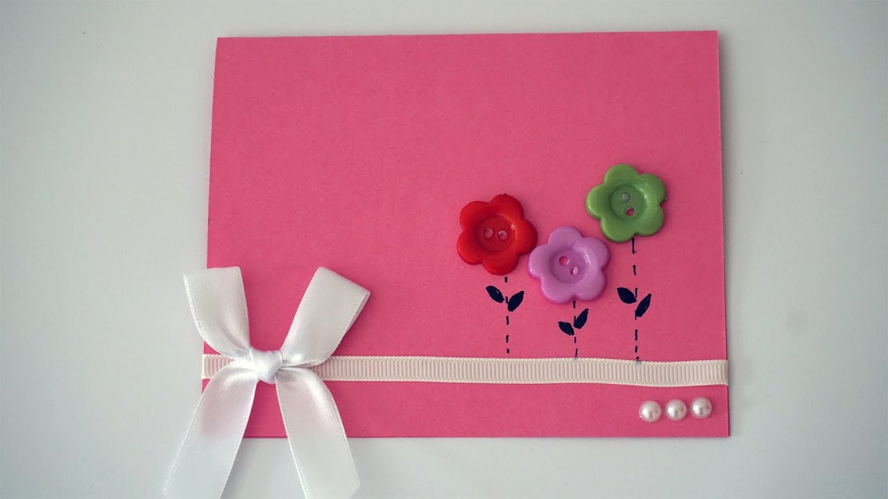 how to make easy greeting cards