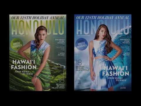 Behind-the-Scenes Look at Making HONOLULU Magazine's Mauka to Makai Cover
