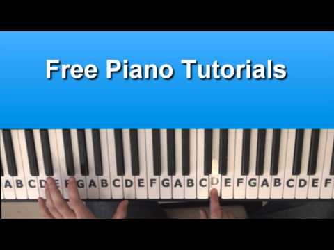 How To Play Rumor Has It - Adele S On Piano Tutorial
