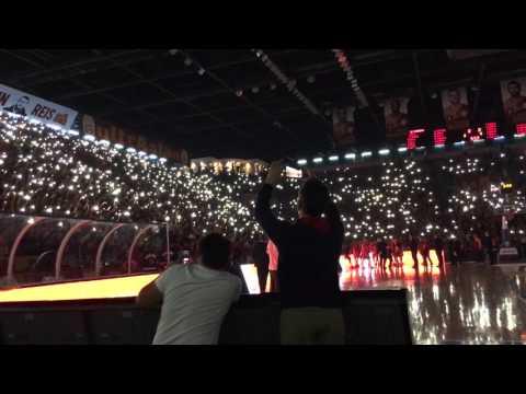 Galatasaray Odeabank - Gran Canaria / Takimin anons edilisi ve