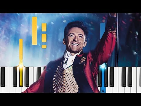 The Greatest Showman - A Million Dreams - EASY Piano Tutorial