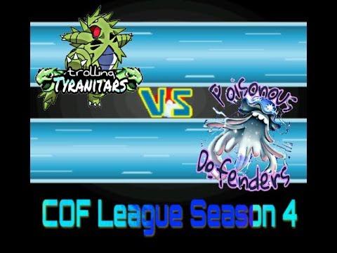 Spieltag 12 I Trolling Tyranitars vs Poisonous Defenders ICof Liga Season 4] die starken Debütanten!