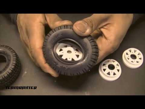Tamiya Subaru Brat Kit Build: 6 - Wheels/Tires