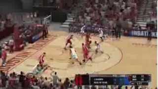 NBA 2K14 Gameplay: Miami Heat vs Houston Rockets (Xbox 360/PS3/PC)