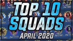 Top 10 Squads in SWGoH April 2020!!    Star Wars: Galaxy of Heroes