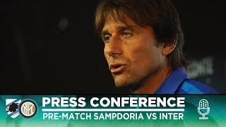 SAMPDORIA vs INTER | Antonio Conte Pre-Match Press Conference LIVE 🎙⚫🔵 [SUB ENG]