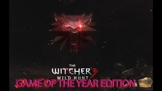 The Witcher 3 Wild Hunt  GAME OF THE YEAR EDITION :D