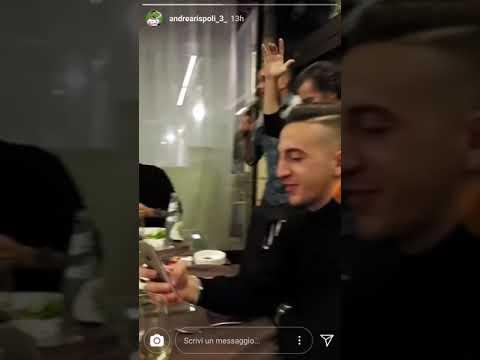 Palermo calcio festeggia il Natale con cena e karaoke