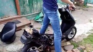 Yamaha Jog 5bm не набирает обороты (РЕШЕНО)