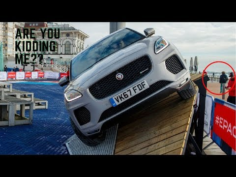 DON'T MISSED IT! 2018 Jaguar E-Pace JUMP THE SKY