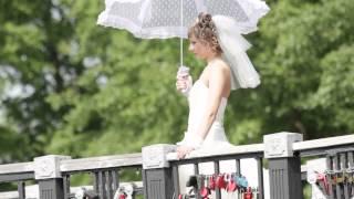Свадьба в Барнауле катание Станислав и Ксения 8.06.2013.