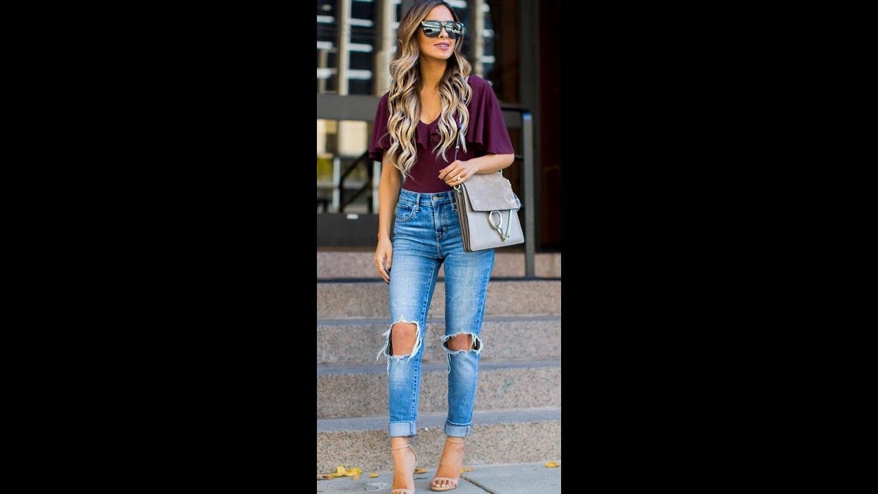 515350676829e Casual Spring Denim Outfit Ideas What To Wear With Jeans for 2019 ...