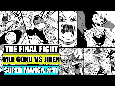MASTERED ULTRA INSTINCT GOKU VS JIREN FINALE! Dragon Ball Super Manga Chapter 41 Spoilers