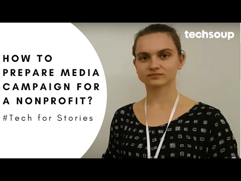 How to prepare media campaign for a nonprofit?