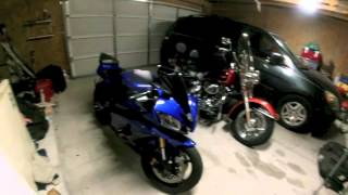 Short Vlog, Tunnel Revving, Switching bike styles, Review of my 2007 R6