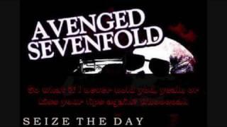 Avenged Sevenfold - Seize The Day - Lyrics (HQ)