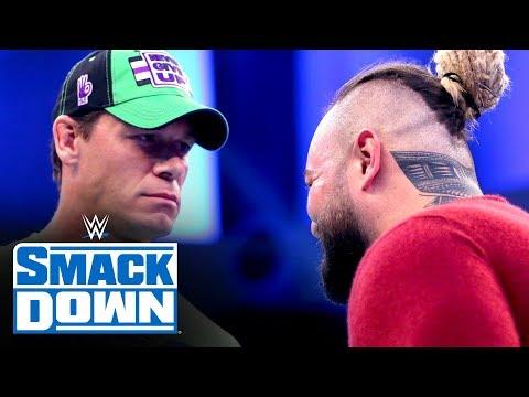 Bray Wyatt crashes John Cena's interview en route to WrestleMania: SmackDown, March 13, 2020