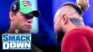 Bray Wyatt crashes John Cena's interview en route to WrestleMania: SmackDown, March 13, 2020