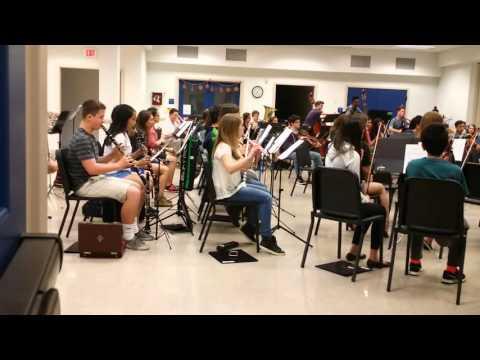Rhapsody in Blue (clarinet) DCYO rehearsal