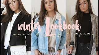 COZY & WARM WINTER LOOKBOOK I 4 Outfits I ▹ Zaramiraa ♡