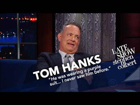 Thumbnail: Tom Hanks Honored As Late Show's 'Hunk Of The Day'