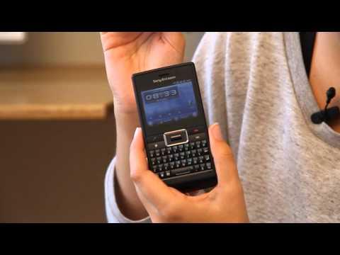 Katshing testar Sony Ericsson Aspen