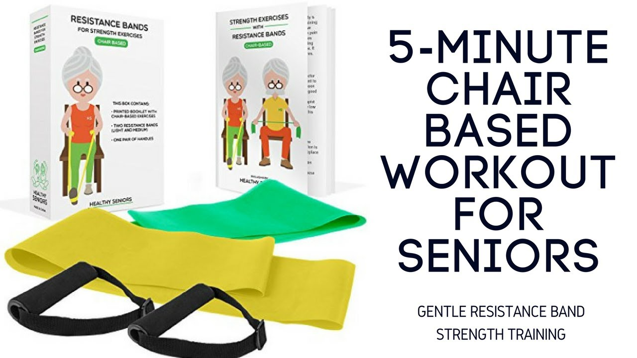 5 Minute Chair Exercises For Seniors Or People With Mobility Issues