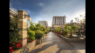 Dizalya Palm Garden 5 отель Дизалия Палм Гарден Аланья Турция обзор отеля территория