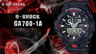 Casio G-SHOCK Analog-Digital GA700-1A | Top 10 Things Watch Review