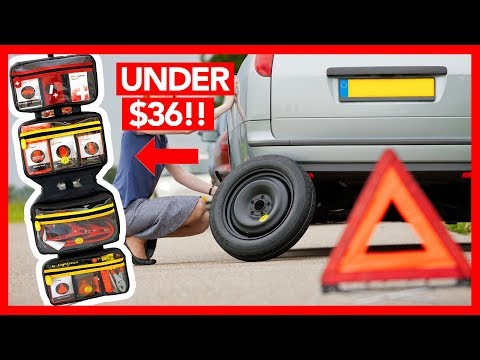Emergency Car/Truck Survival Kit 2017 - 60 PIECE SET! (Deal Guy Live)