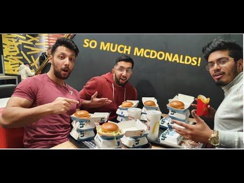 McDonald's $100 Fish Fillet Challenge! (7,000 CALORIES)