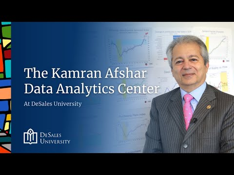 The Kamran Afshar Data Analytics Center at DeSales University