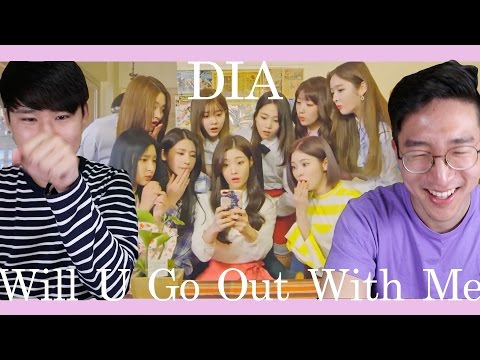 DIA - Will you go out with me(나랑 사귈래) KOREAN REACTION!