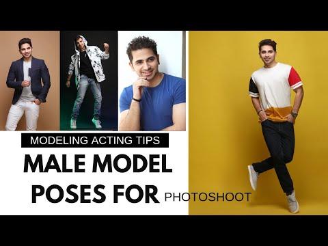 Male Modeling Photoshoot Poses with Praveen Bhat | Modeling Tips | मॉडलिंग के पोसेस | मॉडल कैसे बने