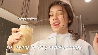 trying to be productive quarantine vlog   morning afternoon routine