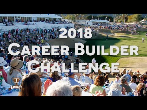 2018 Career Builder Challenge | Daily Fantasy Golf Strategy | DailyFantasyWinners