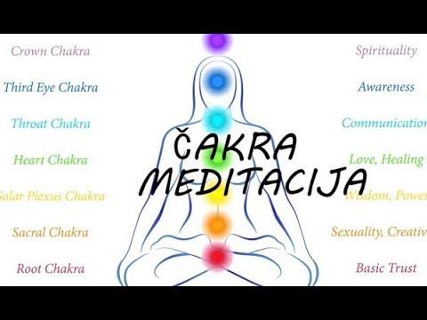 Vodjena Meditacija - Chakra Meditacija