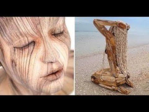 23 невероятно реалистичные скульптуры из дерева, от которых по коже бегут мурашки.