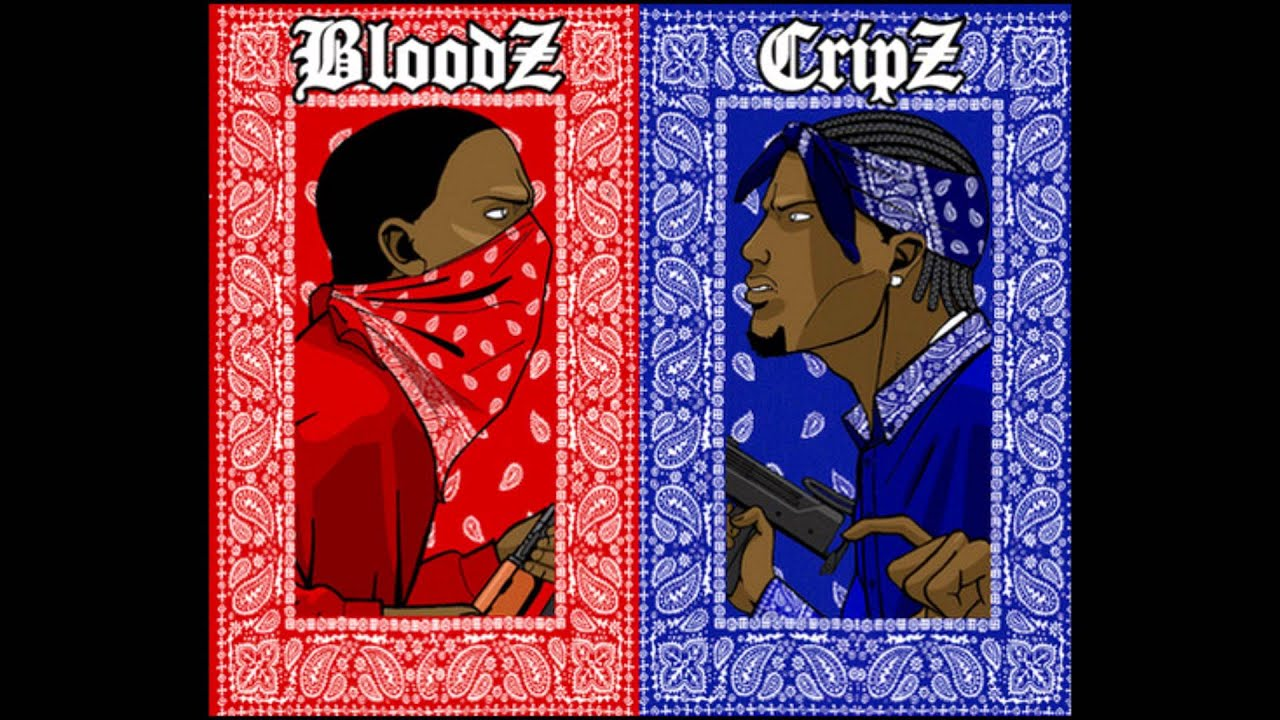 Red Rag Bloods: Bloods & Crips Ft Flowwood