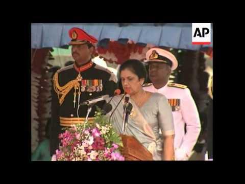 SRI LANKA: BRITAIN'S PRINCE CHARLES AT INDEPENDENCE DAY PARADE