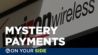 Family mystified when cellphone bill showed payments they never made