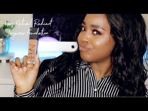 NEW NARS NATURAL RADIANT LONGWEAR FOUNDATION REVIEW