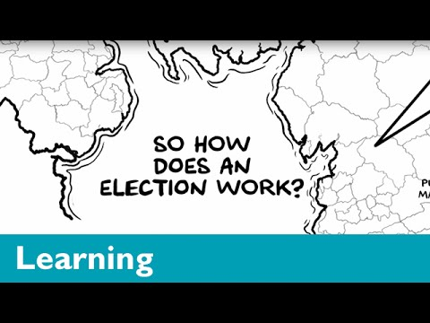 How the general election works in nearly 60 seconds