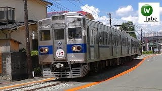 【併用軌道】熊本電気鉄道藤崎線6000系(6111A) 黒髪町~藤崎宮前 Kumamoto Electric Railway