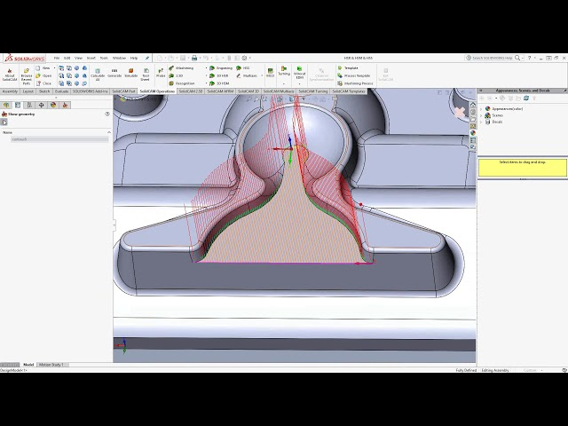 HSS Full Toolpath