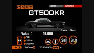 Gran Turismo 2 ~ Secret and Rare cars